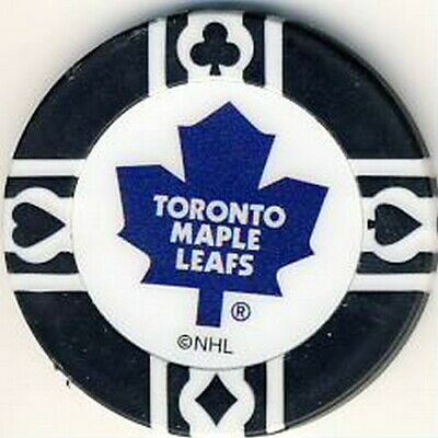 Toronto Maple Leafs NHL Poker Chip Various Colours