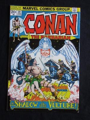 Conan The Barbarian #22 MARVEL 1973 - NEAR MINT 9.4 NM - Barry Smith, Stan Lee!