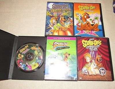 Lot of Scooby Doo Cartoons dvd Movies Goes Hollywood Spookiest Tales Halloween