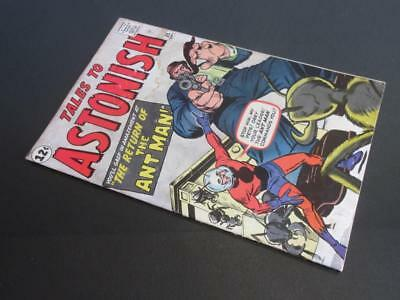Tales to Astonish #35 MARVEL 1962- 2nd app Ant-Man/ 1st app in costume -Stan Lee