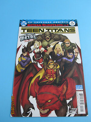 TEEN TITANS #12 VF/NM 1st BATMAN WHO LAUGHS cover B DC Comics Rebirth