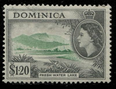 Black Mtn British ********** Dominica  # 155 Used *********** Cat. $7