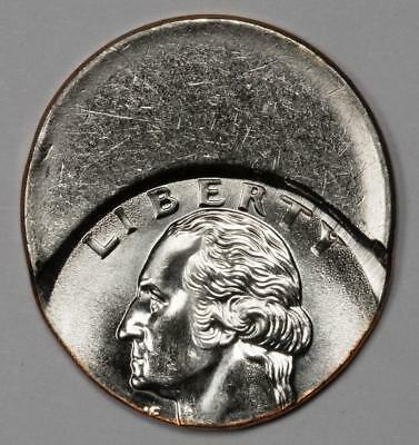 Off Center Quarter Mint Error Proof Like Surfaces Great Eye Appeal