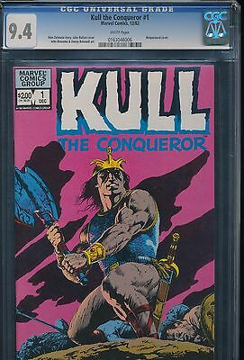 MARVEL KULL the CONQUEROR # 1 - WHITE PAGES ~ CGC 9.4 Wraparound Cover