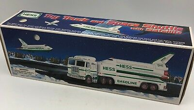 1999 Hess Toy Truck and Space Shuttle with Satellite Still in Original Box