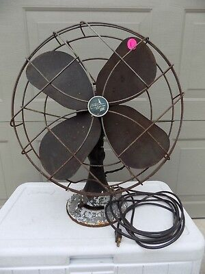 Emerson Electric Vintage Fan 79648-SA  - 3 speed, oscillating -- Not Running