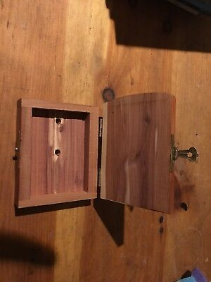 Leave A Note Small Wooden Box Keepsake Box. geo hunting or treehouse notes