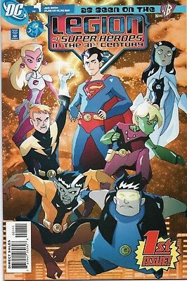 Legion of Super Heroes in the 31st Century ......1, 2 VF (as seen on WB)