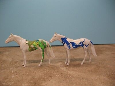 Peter Stone CHIPS lot 2 thoroughbred body quality model horse NR Free Shipping