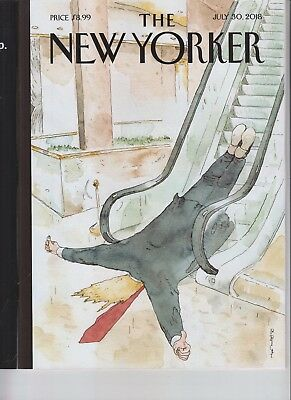 Donald Trump The New Yorker Magazine July 30 2018 No Label Thumb's Up