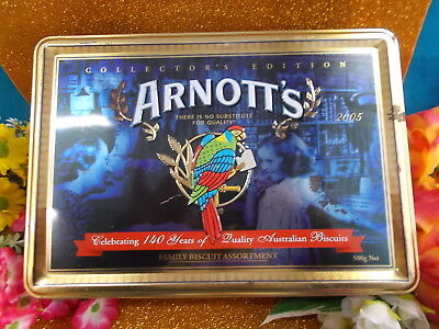 Arnotts Collectors Edition Collect-Able Tin - 1865 - 2005 / 12 Apr 06 - Empty Gc