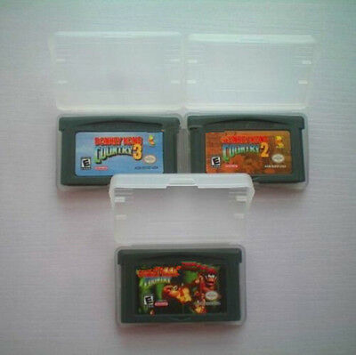 Donkey Kong Country 1/2/3 Cartridge Card For Game Boy Advance GBA SP NDS NDSL