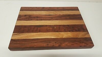 Redgum & Spotted Gum Chopping Board Size 410 x 320 x 30 mm & Free Wine Display