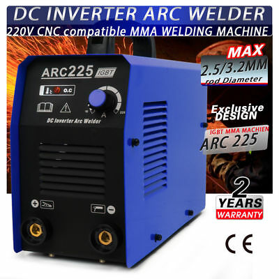 220 Voltage ZX7250 Portable MMA ARC Welder Welding Machine Soldering Inverter h