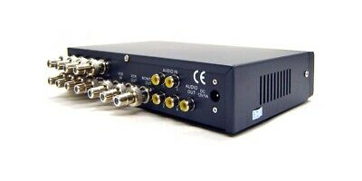 8-Channel Composite Video Multi-Viewer With Audio Support