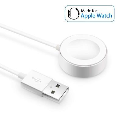 For Apple Watch Series 2/3/4 iWatch 38/42mm Magnetic Charger Charging Pad Cables