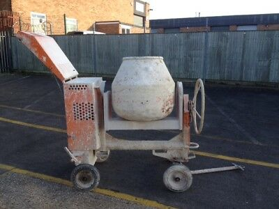 Belle Premier XT- Site Cement Mixer, Year 2006, 110v, Used
