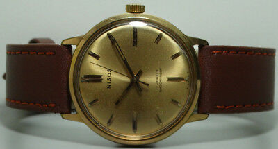 Superb Vintage Nisus Winding Mens Swiss Wrist Watch Old s863 Used Antique