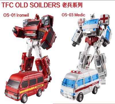 Transformers TFC Veteran series OS-01/03 Iron sheet ambulance MP ratio in stock