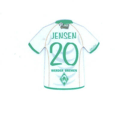 SV Werder Bremen Magnet Trikot Simba FAN COLLECTION Fussball #20 JENSEN