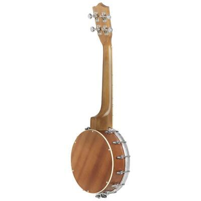 4 String Maple Resonator Banjo with Capo Strings Cleaning Cloth Gift