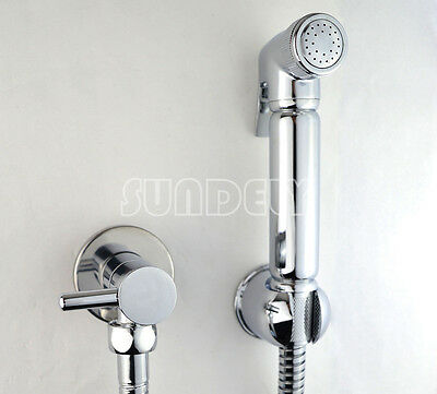 Solide Toilette Handheld Dusche Bidet Spray Dusche Kit Messing