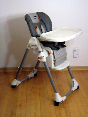 Chicco Polly Reclining Folding High Chair PICK UP IN Michigan