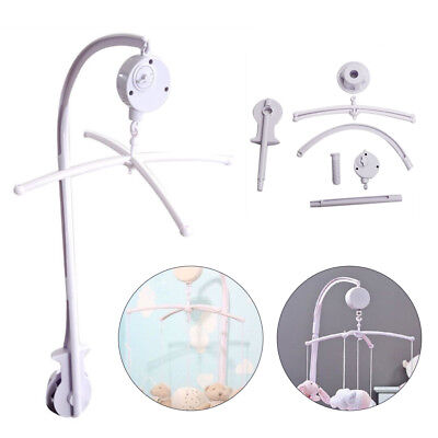 Baby Crib Mobile Bed Bell Holder Toy Arm Bracket Wind-up Music Box Hanging DIY