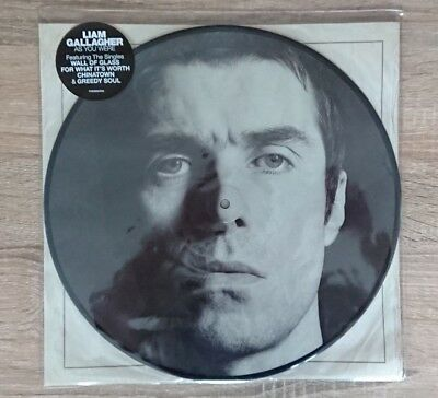 Liam Gallagher As You Were Vinyl Limited Edition Picture Disc HMV Exclusive