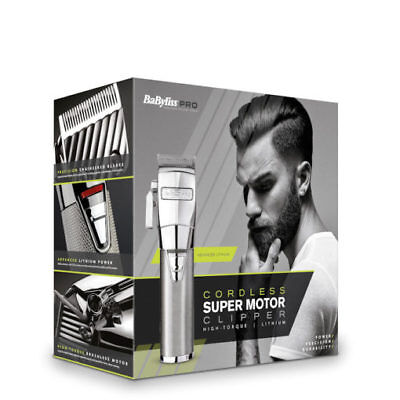 Babyliss Pro Super Motor CORDLESS CLIPPER