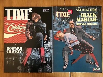 Time2 - Two Graphic Novels by Howard Chaykin
