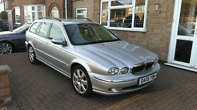 JAGUAR X-TYPE ESTATE 2.0d SE, Leather, Full Service History, 12 Months MOT