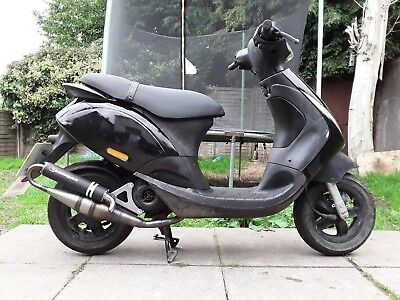 Piaggio Zip 50cc 2 stroke full MOT sports exhaust scooter moped