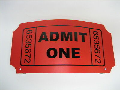 Williams Funhouse Pinball Machine Curved Ticket Header