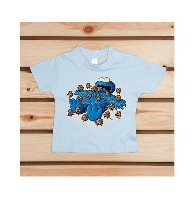 Craquant T-Shirt Baby Pampling Gulliver Monster 100% coton neuf  12/18 mois