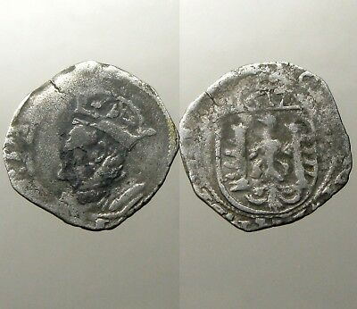 BESANCON (FRANCE) SILVER COROLUS___Dated 1617___CHARLES V - HOLY ROMAN EMPEROR