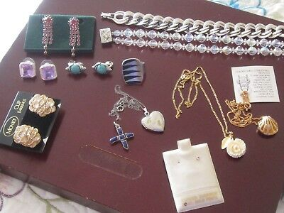 Vintage Estate Jewelry Lot with Marked, Sterling, GF