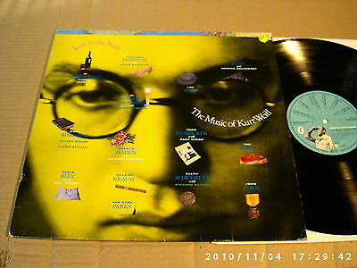 V/a - Lost In The Stars - The Music Of Kurt Weill - Lp - A&m Lp 395 104-1