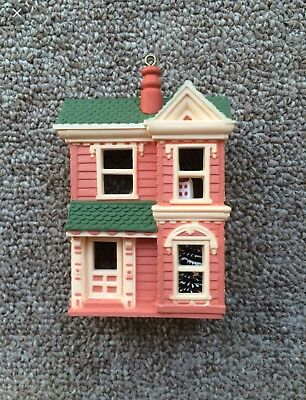 Hallmark Ornaments 1984 Victorian Dollhouse  First In The Series