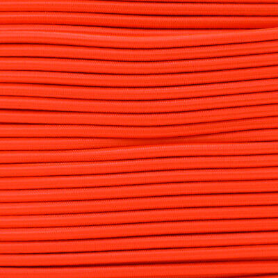 Paracord Planet 3/16 Inch Elastic Bungee Shock Cord - Solid Colors - USA Made