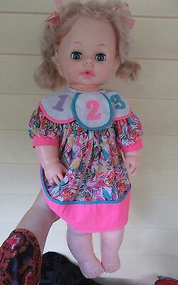 """Eegee Co. 1973 21"""" Softina rubber Doll"""