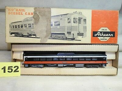 Athearn Ho #2172 Motorized New Haven Rdc-1 Budd Passenger Car For Clean Up