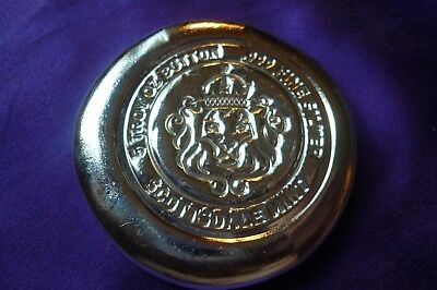 5 oz Scottsdale Silver Button .999 Fine Silver Bullion Bar Coin Round