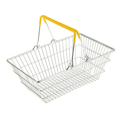 Mini Shopping Hand Basket Kids Toys - Yellow Color