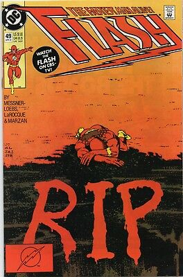 Flash #49 (1991) Vf 1St Printing Bagged & Boarded Dc Comics
