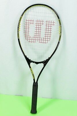"Wilson Fusion XL V Matrix Tennis Racquet Oversize 105 sq. in 4.25"" grip"