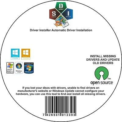 2018 WINDOWS DRIVERS Install DVD no internet needed all driver on DVD