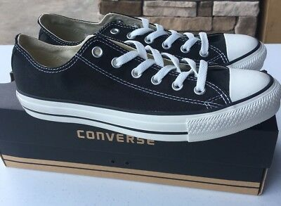 CONVERSE Chuck Taylor All Star Low Oxford Sneaker  M9166   Black Sizes 6.5 to 11