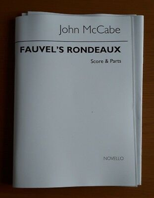 John McCabe - Fauvel's Rondo for Clarinet (Bass Clarinet) Violin & Piano
