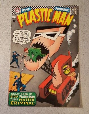 PLASTIC MAN #4  DC SILVER AGE Comic Book Condition Fine or better...You decide